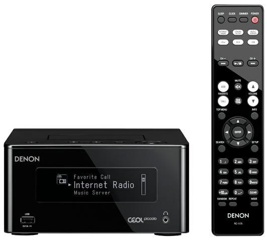 Denon CEOL Piccolo + głośniki Denon SC-N5 [TEST]
