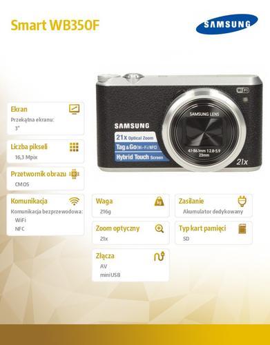 Samsung Smart WB350F black