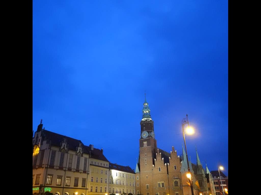 Wrocławski rynek - zdjęcie Sony RX0 II