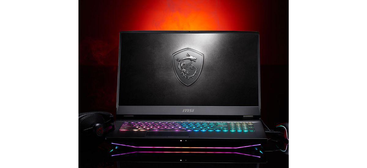MSI GT76 Titan - laptop DTR