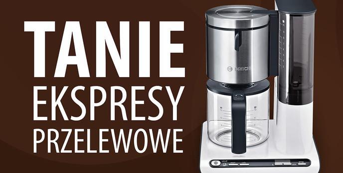 TOP 10 Tanich ekspresów przelewowych do kawy