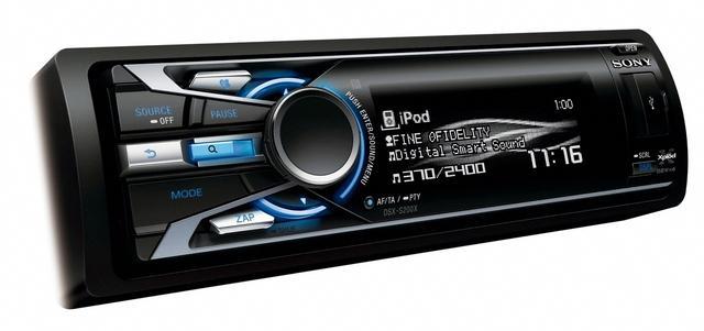 Sony Xplod - nowe odtwarzacze samochodowe z MP3