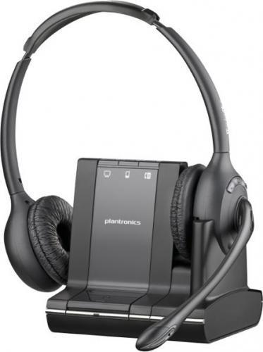 Plantronics Savi W720 z elektronicznym podnośnikiem słuchawki APS11