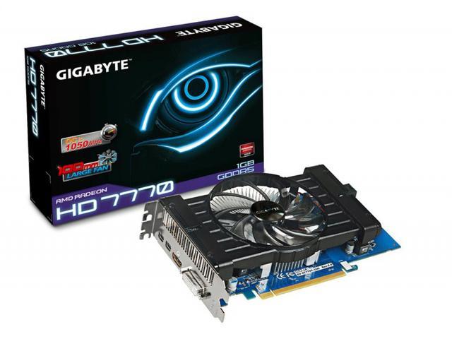 Komputer za 650 zł - Gigabyte Radeon HD7770