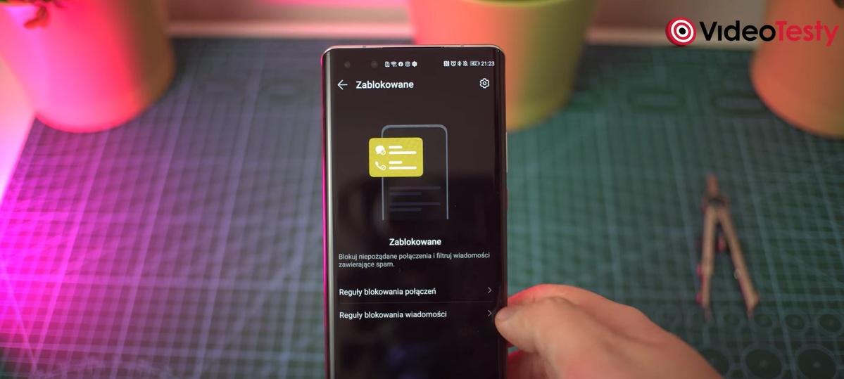 Huawei Mate 40 Pro działał bezproblemowo podczas rozmów