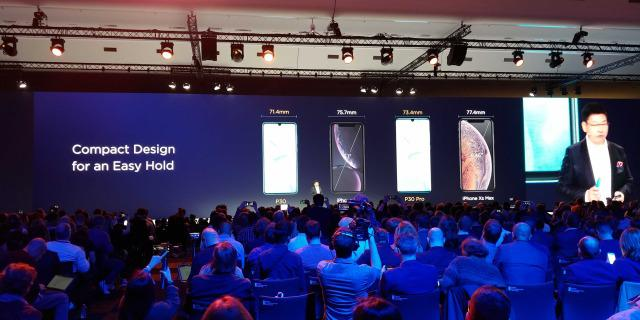 Wymiary Huawei P30 są mniejsze niż reszty