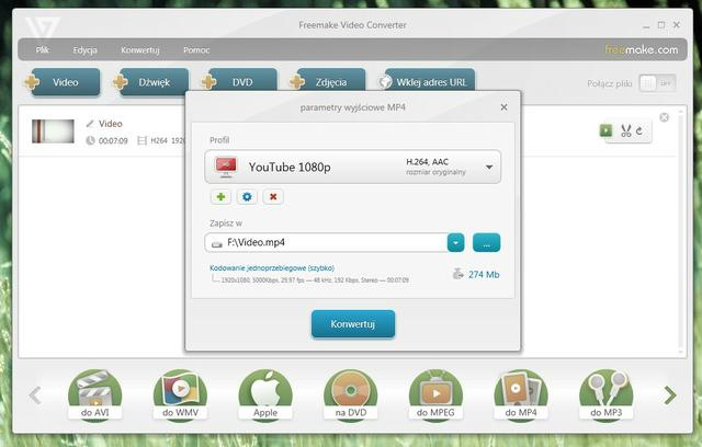 Freemake Video Converter Profile 2