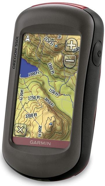 Garmin Oregon 450 - ręczne urządzenie nawigacyjne