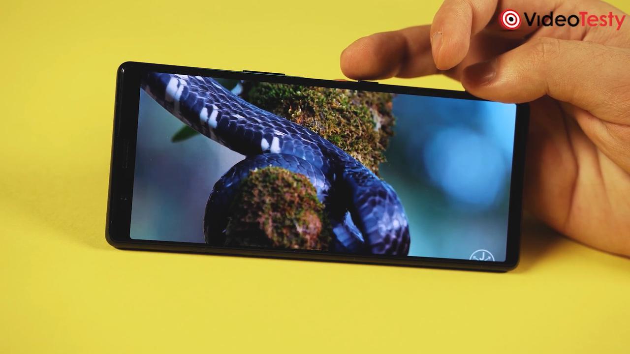 Xperia 5 posiada ekran OLED o świetnych parametrach
