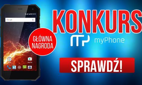 KONKURS - Wygraj smartfon myPhone Hammer ENERGY