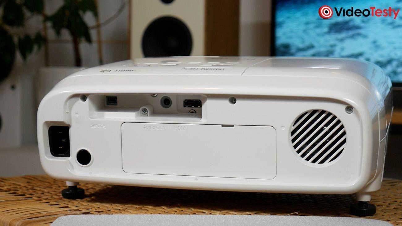 Epson EH-TW5700 tył bez klapki