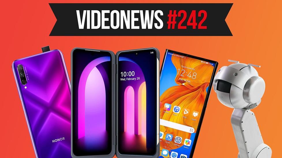 Nowe smartfony, robot muzykant, zagrożenie dla Wi-Fi - VideoNews #242