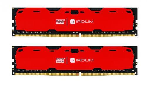 GOODRAM IRDM 8GB czerwony [2x4GB 2400MHz DDR4 CL 15-15-15 512x8 DIMM] ..