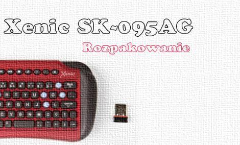 Xenic SK-095AG rozpakowanie bezprzewodowej klawiatury 2 4GHz [UNBOXING]