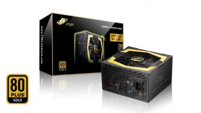 Rozpakowanie zasilacza komputerowego FSP AURUM GOLD 500 AU-500
