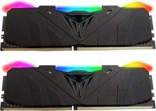 Patriot VIPER RGB DDR4 16GB DUAL KIT ( 2x8GB) 3200MHz CL16 Czarny Radiator