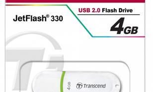 Transcend JETFLASH 330 4GB USB2.0 WHITE
