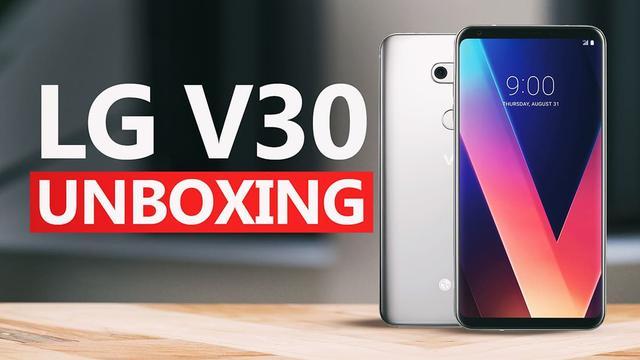 Unboxing LG V30 - Premiera flagowca w Polsce!