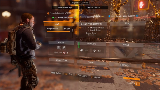 Tom Clancy's The Division - Funkcja HBAO+