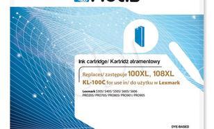 Actis KL-100C tusz cyan do drukarki Lexmark (zamiennik Lexmark 14N1069E) Supreme