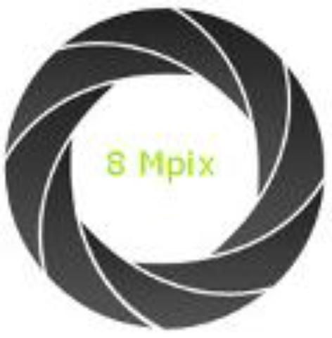 Aparat fotograficzny 8 Mpix