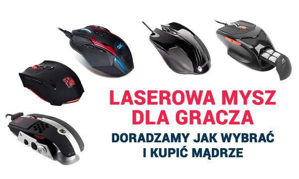 laserowa mysz