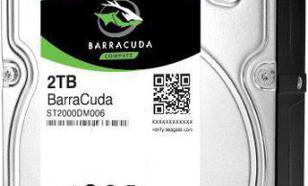 Seagate BarraCuda 2TB, SATA/600 (ST2000DM006)