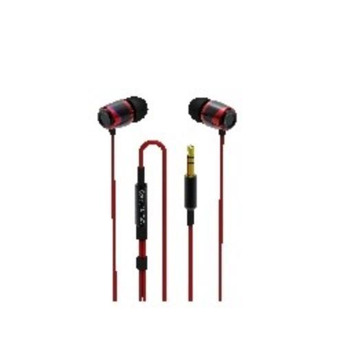 SoundMAGIC E10 Black-Red Sluchawki Dokanalowe