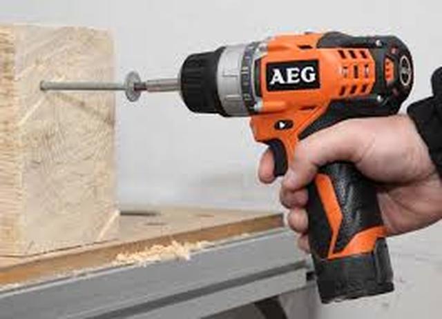 AEG BS 12 C2 LI - niewielka, ale funkcjonalna wiertarka