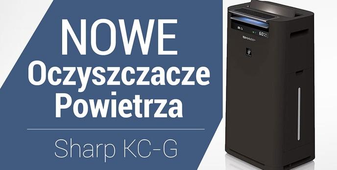 Oczyszczacze Powietrza Sharp KC-G – Premiera Nowej Generacji Oczyszczaczy