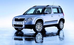 Skoda Yeti SUV 2,0TDI CR DPF 4x4 (170KM) M6 Ambition 5d