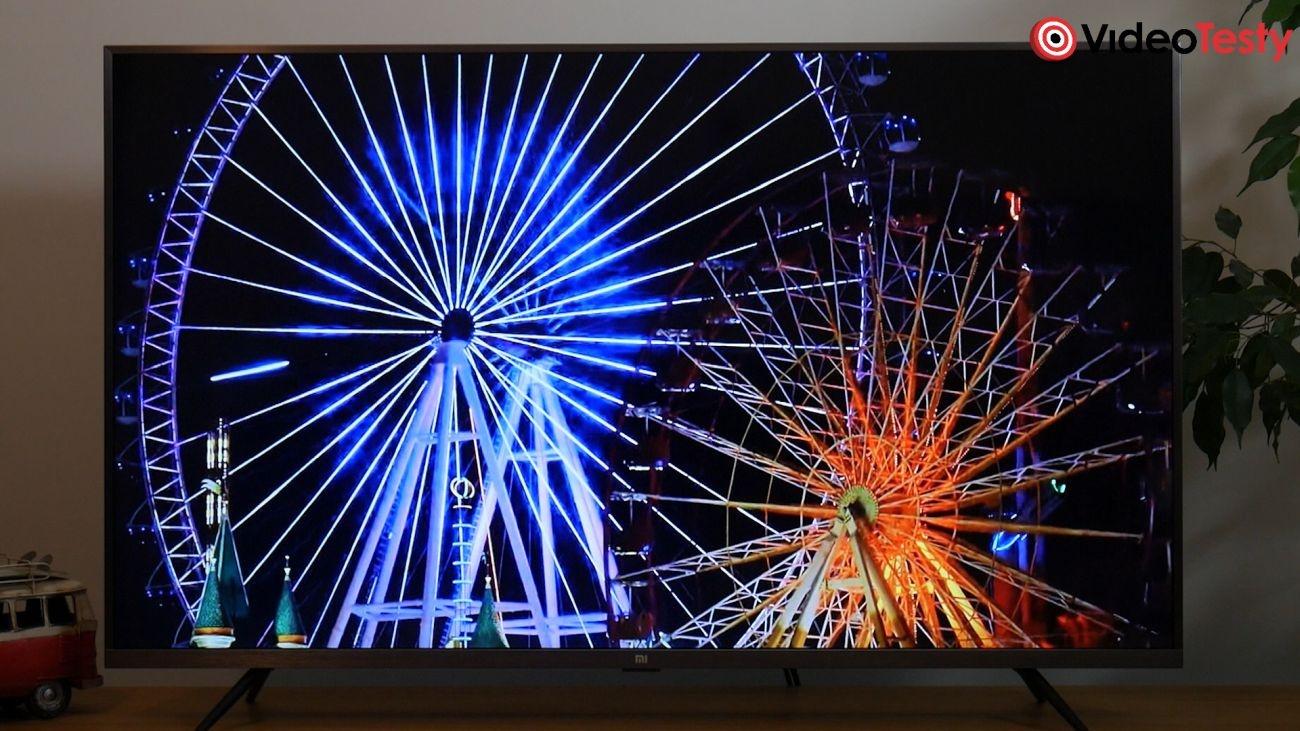 Test Xiaomi Mi TV 4S 43 cale - jakość czerni