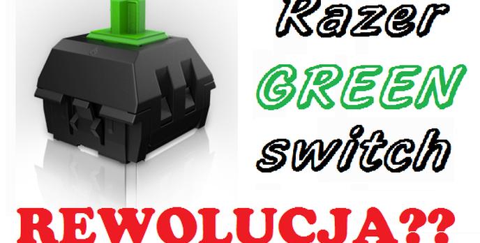 Razer Green Switch - Czy Szykuje się Rewolucja na Rynku Klawiatur Mechanicznych?