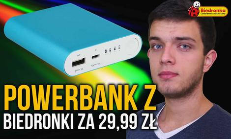 Powerbank HYKKER za 29,99 zł z Biedronki - Czy Warto Kupić?