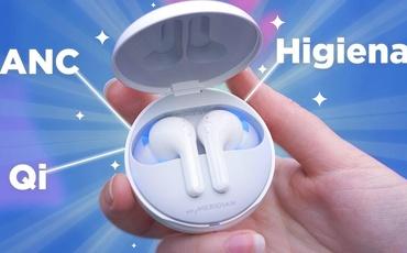 Najwygodniejsze słuchawki świata?! Sprawdzamy LG TONE Free FN7