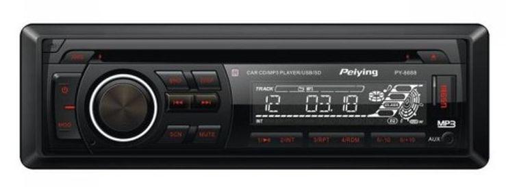 dobry i tani radioodtwarzacz samochodowy Peiying PY6688