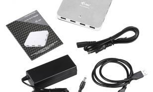 i-Tec USB 3.0 Metal Charging HUB 10 Portów z zasilaczem10x USB 3.0 z funkcją Plug & Play oraz możliwością ładowania przez USB