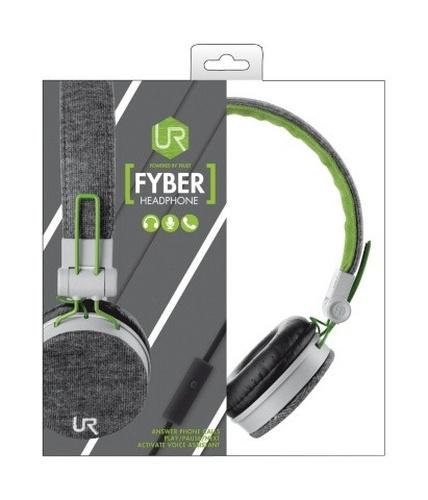 Trust UrbanRevolt Fyber Headphone szaro-zielone (20080)