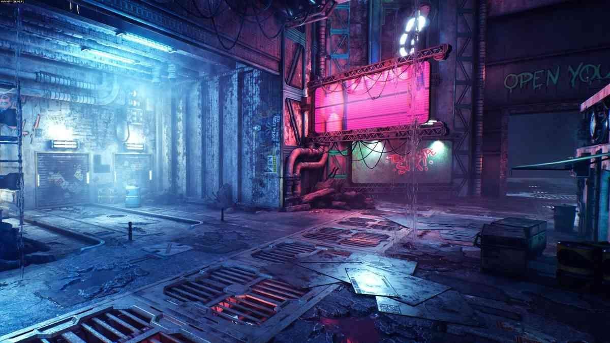 Ghostrunner - Miasto Cyberpunk