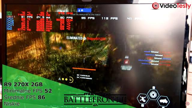 Liczba FPS-ów w Battlefront