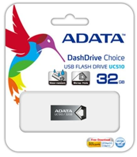 A-Data DashDrive Choice UC510 8GB USB2.0 Tytan Alu