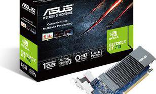 Asus GeForce GT 710 1GB GDDR5 (32 bit) HDMI, DVI, D-Sub, BOX (GT710-SL-1GD5-BRK)