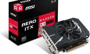 MSI Radeon RX 560 AERO OC 4GB GDDR5 (128 bit), DVI-D, HDMI, DisplayPort, BOX (RX 560 AERO ITX 4G OC)