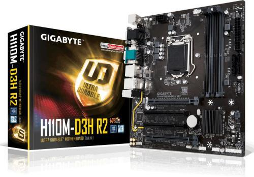 Gigabyte H110M-D3H R2