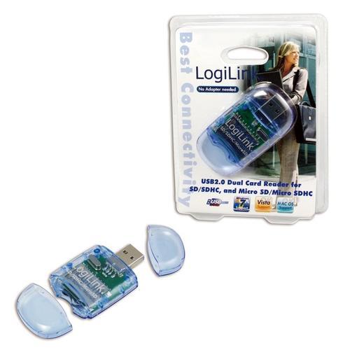 LogiLink Czytnik kart pamieci USB 2.0 Stick CR0015
