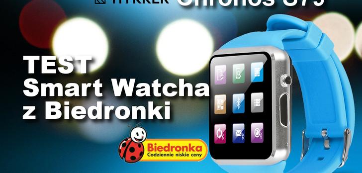 Hykker Chrono S79 - Recenzja Smart Watcha za 159zł
