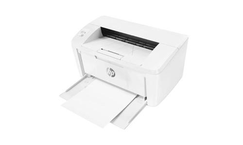 HP LASERJET PRO M15W BIAŁA na białym tle