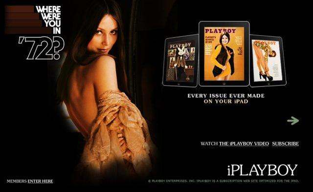Playboy dostępny na iPadzie