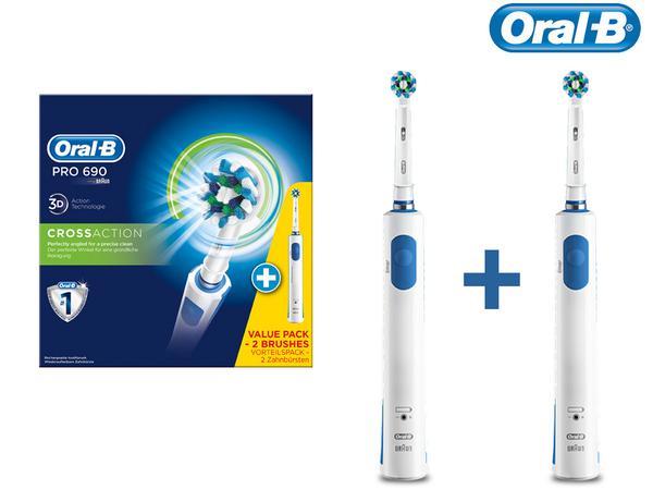 zestaw dwóch szczoteczek Oral-B