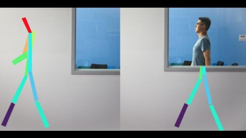 Projekt RF-Pose - Sztuczna inteligencja widzi ludzi przez ściany
